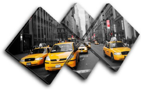 New York NYC Taxi Cab City - 13-1269(00B)-MP19-LO